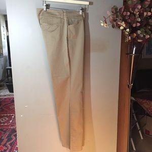 Tommy Hilfiger beige, flat front, pants